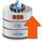 Ampliación Anual a 2 GB de Espacio en Disco para su Web con Mantenimiento